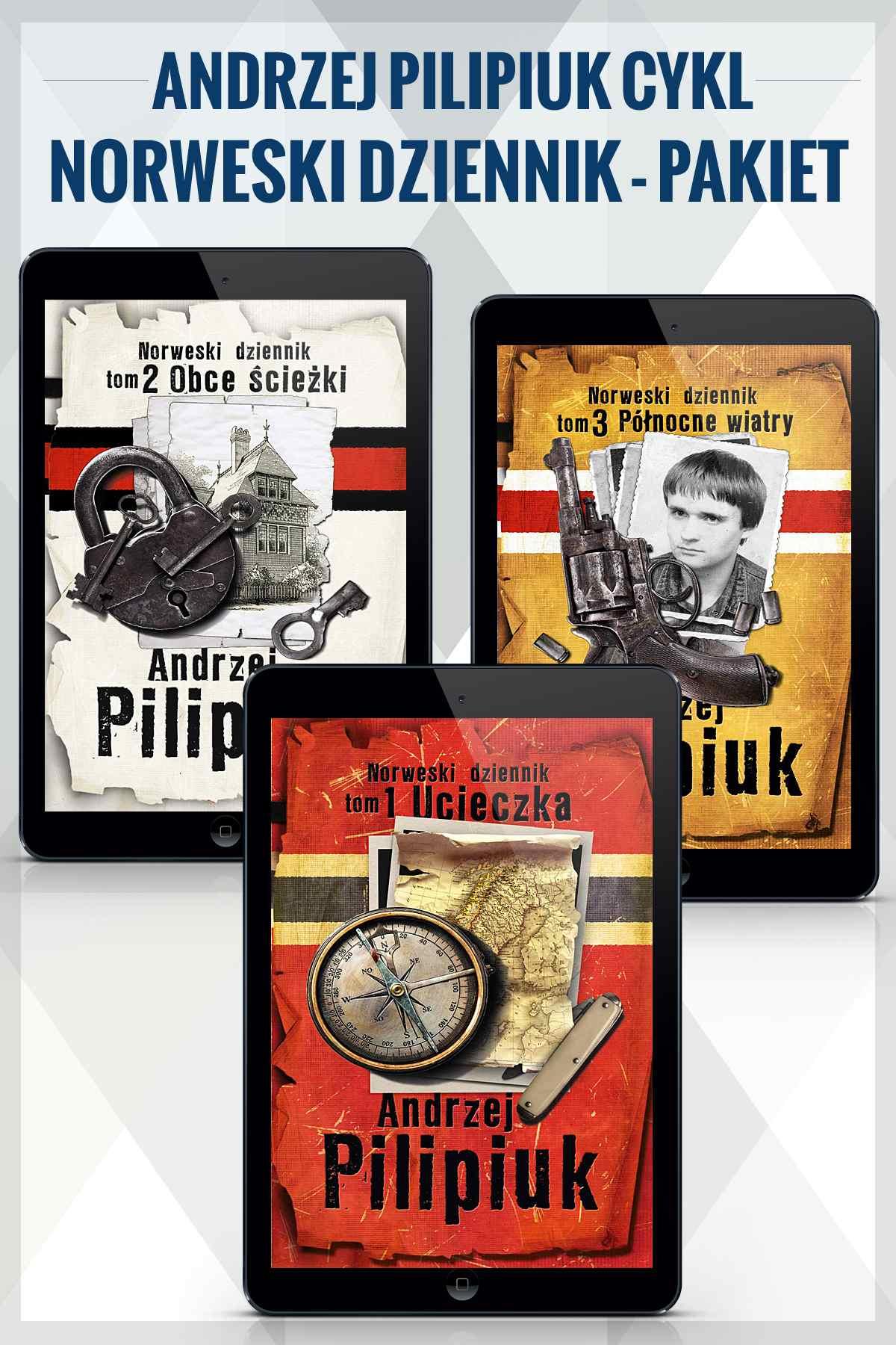 Norweski dziennik - tomy 1-3. Andrzej Pilipiuk - Ebook (Książka na Kindle) do pobrania w formacie MOBI