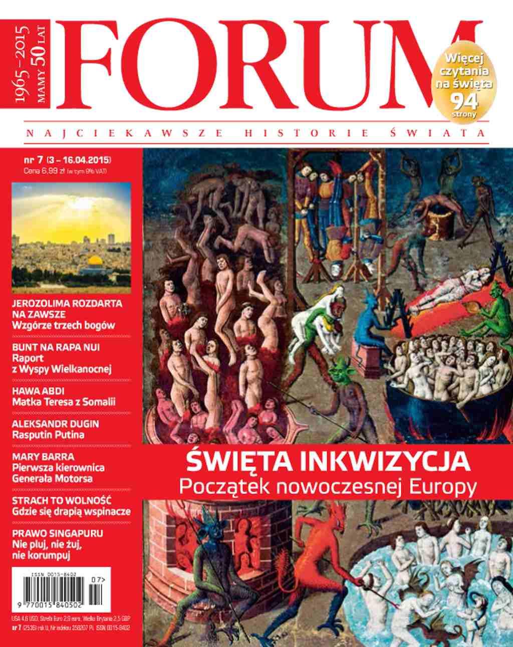 Forum nr 7/2015 - Ebook (Książka PDF) do pobrania w formacie PDF