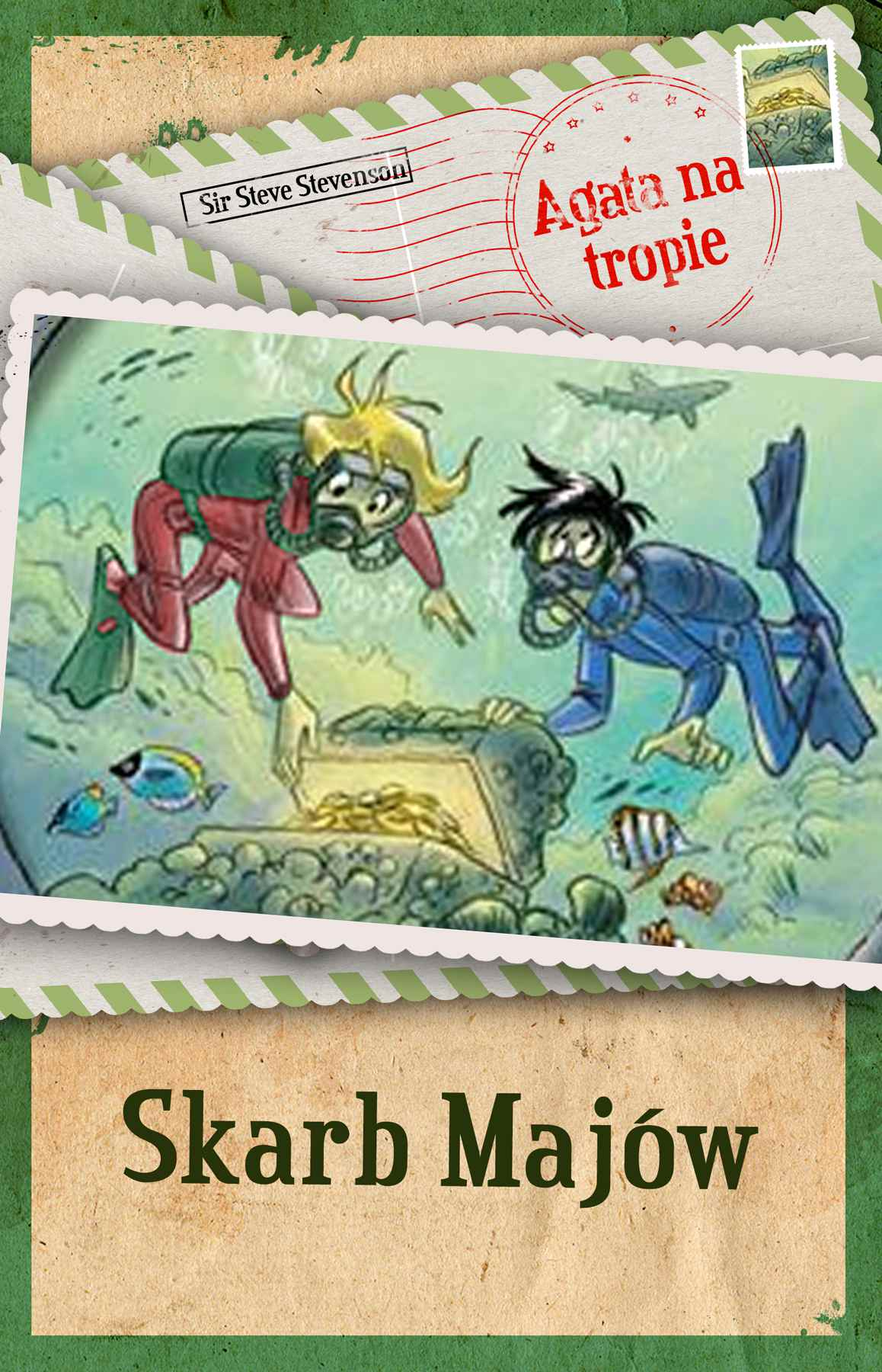 Agata na tropie. Skarb Majów - Ebook (Książka na Kindle) do pobrania w formacie MOBI