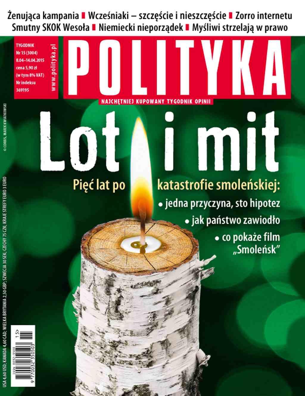 Polityka nr 15/2015 - Ebook (Książka PDF) do pobrania w formacie PDF