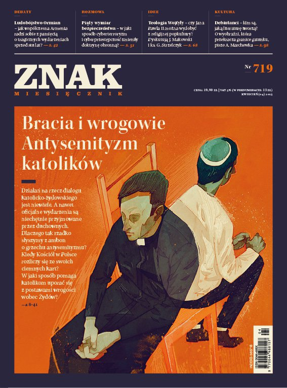 Miesięcznik Znak. Kwiecień 2015 - Ebook (Książka EPUB) do pobrania w formacie EPUB