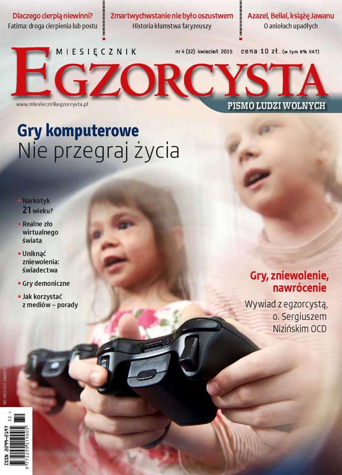 Miesięcznik Egzorcysta. Kwiecień 2015 - Ebook (Książka PDF) do pobrania w formacie PDF