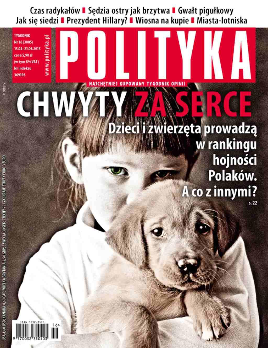 Polityka nr 16/2015 - Ebook (Książka PDF) do pobrania w formacie PDF