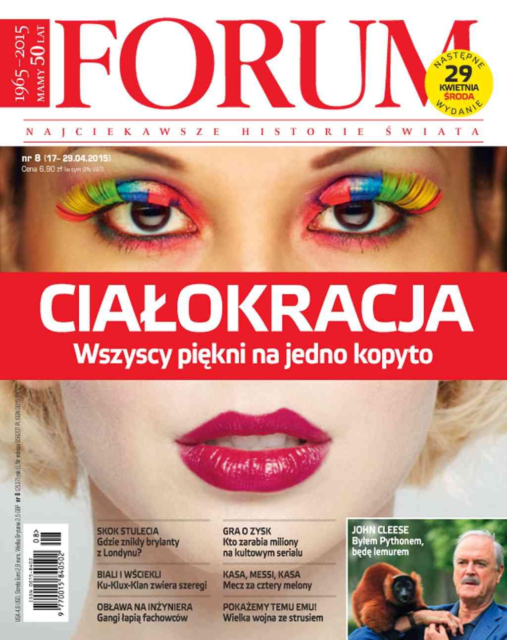 Forum nr 8/2015 - Ebook (Książka PDF) do pobrania w formacie PDF