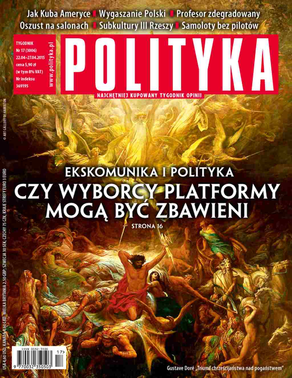 Polityka nr 17/2015 - Ebook (Książka PDF) do pobrania w formacie PDF