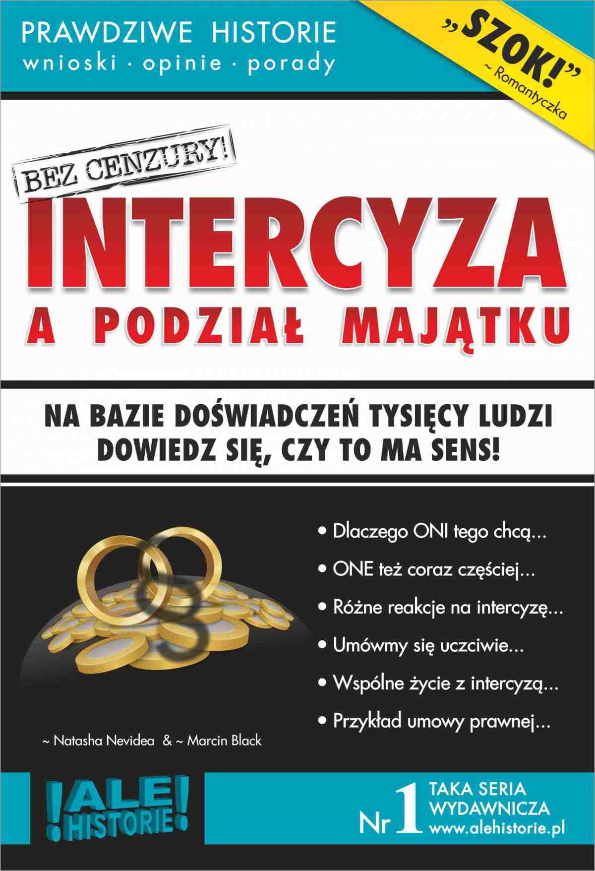 Intercyza a podział majątku. Prawdziwe historie, wnioski, opinie, porady... - Ebook (Książka EPUB) do pobrania w formacie EPUB