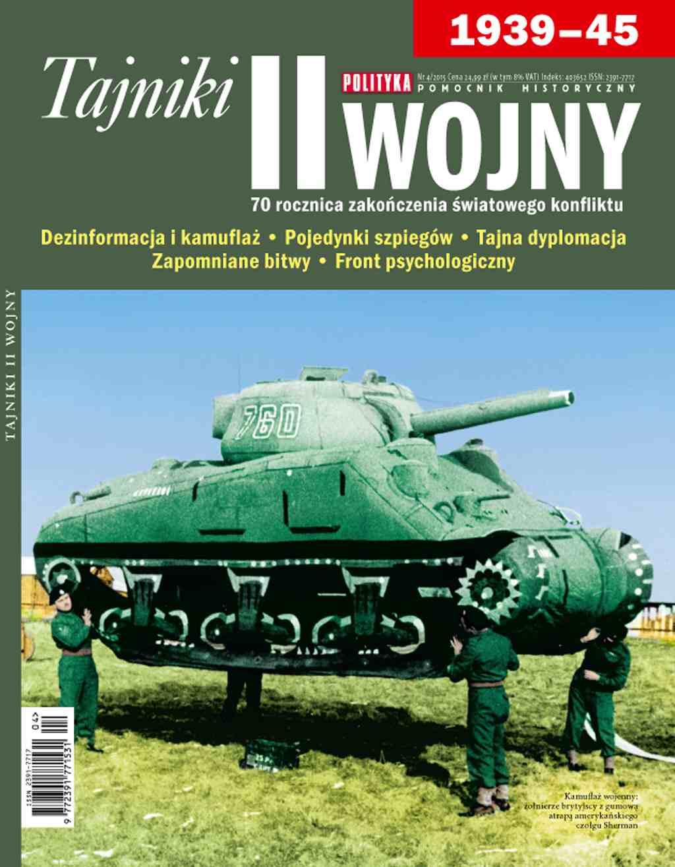 Pomocnik Historyczny: Tajniki II Wojny - Ebook (Książka PDF) do pobrania w formacie PDF
