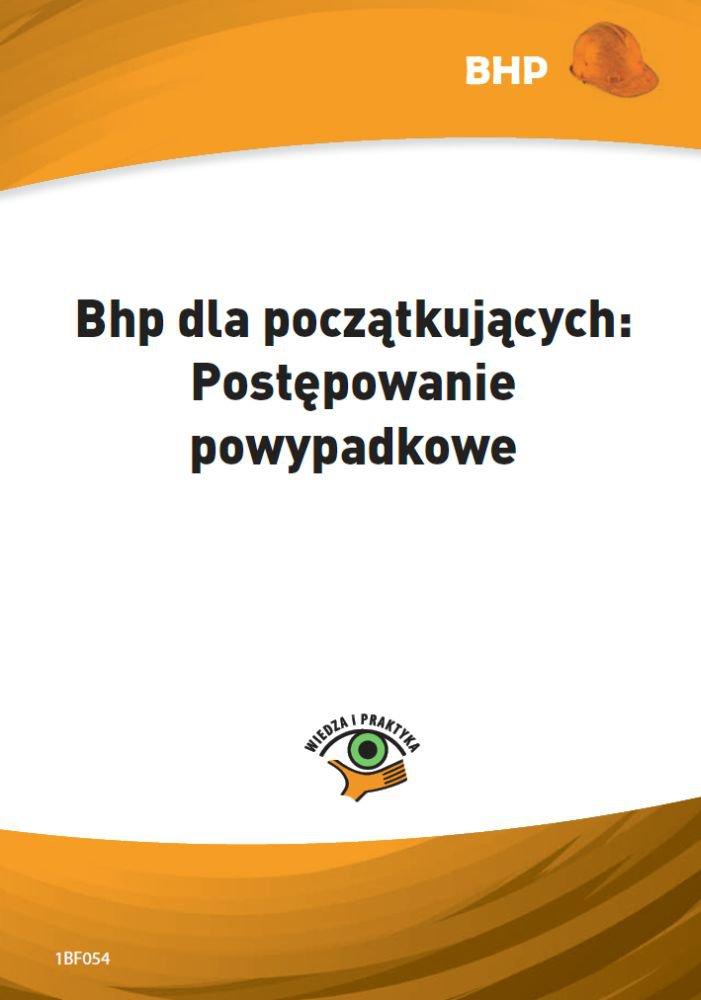 Bhp dla początkujących. Postępowanie powypadkowe - Ebook (Książka PDF) do pobrania w formacie PDF