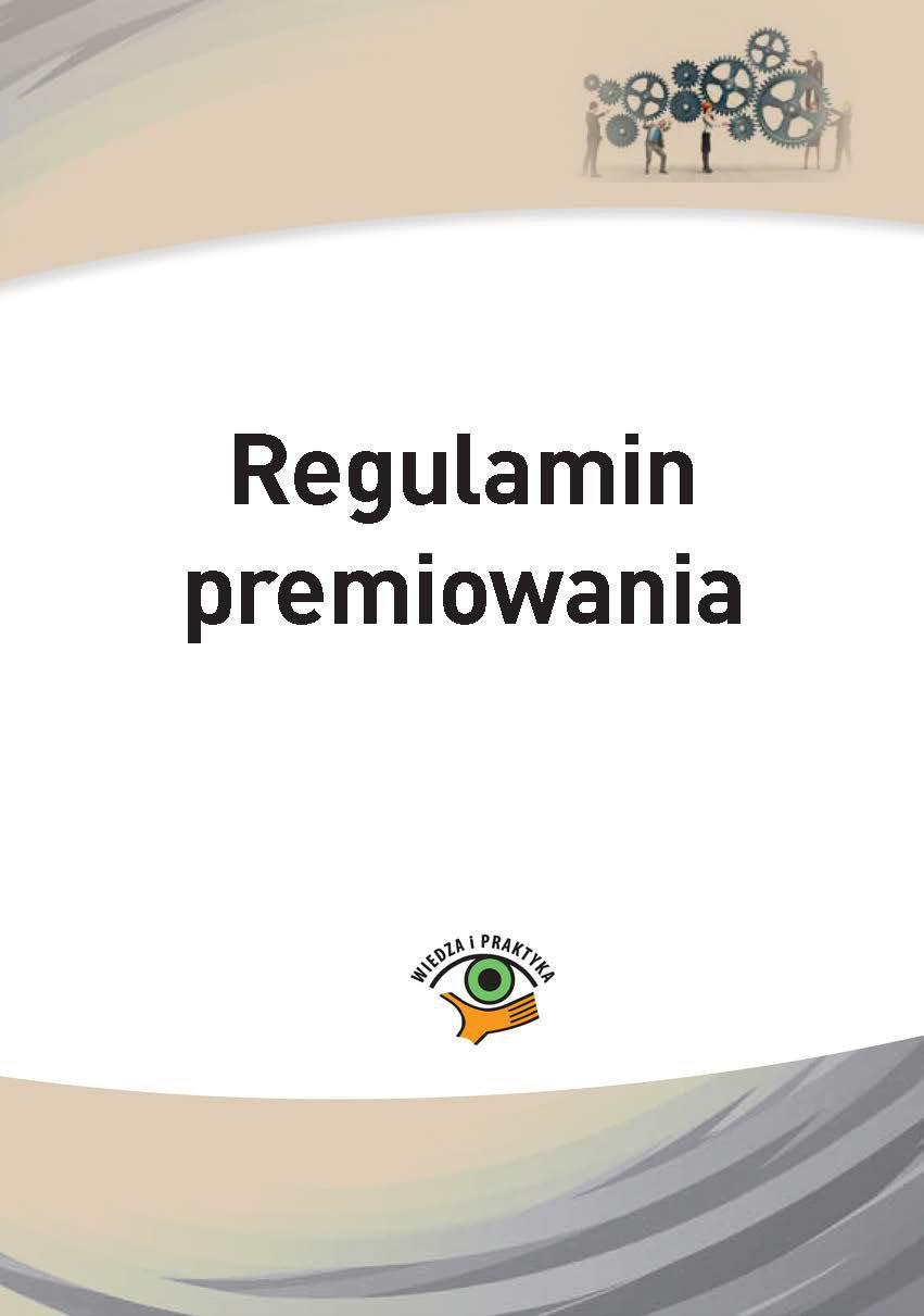 Regulamin premiowania - Ebook (Książka PDF) do pobrania w formacie PDF