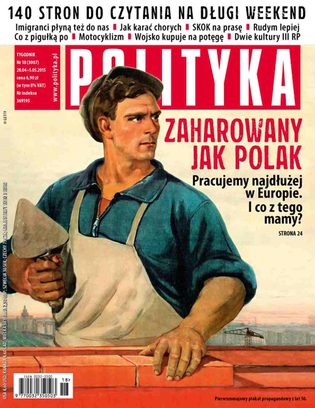 Polityka nr 18/2015 - Ebook (Książka PDF) do pobrania w formacie PDF