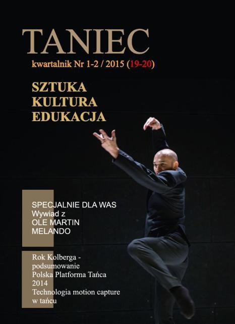 Taniec nr 1-2/2015 (19-20) - Ebook (Książka PDF) do pobrania w formacie PDF
