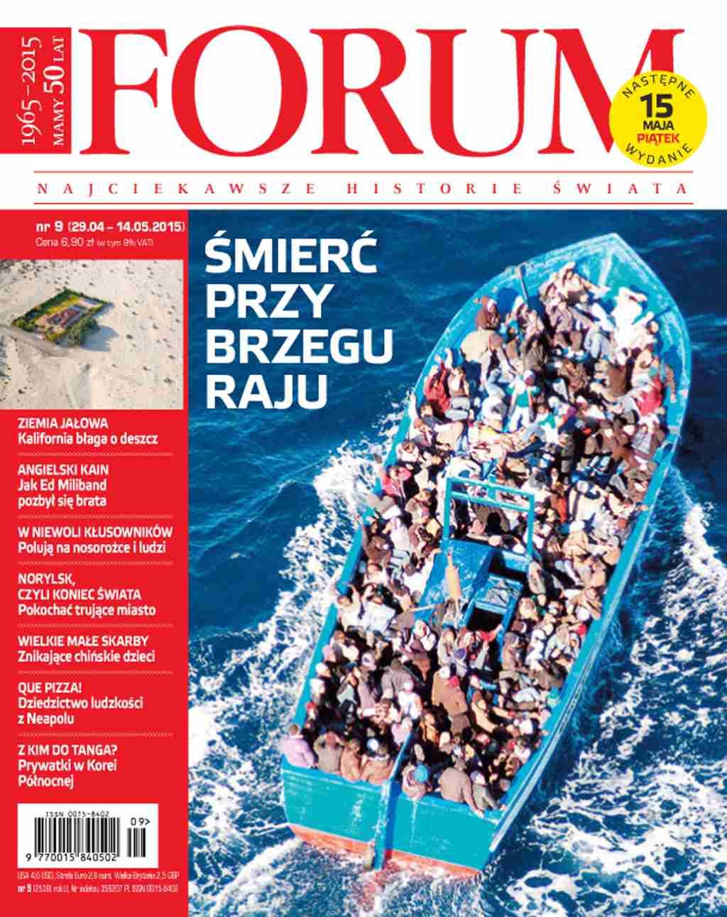 Forum nr 9/2015 - Ebook (Książka PDF) do pobrania w formacie PDF