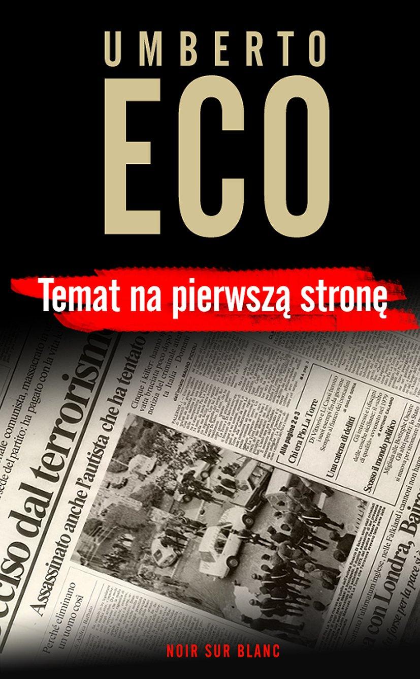 Temat na pierwszą stronę - Ebook (Książka EPUB) do pobrania w formacie EPUB
