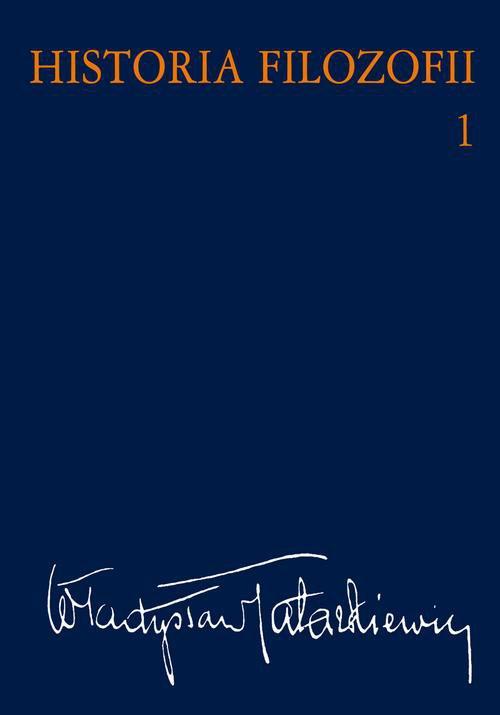 Historia filozofii. Tom 1 - Ebook (Książka EPUB) do pobrania w formacie EPUB