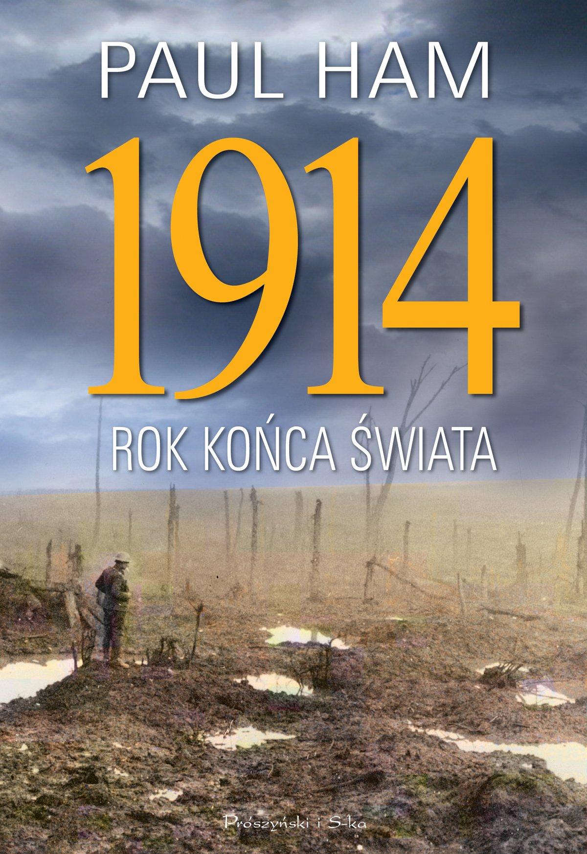 1914 Rok końca świata - Ebook (Książka na Kindle) do pobrania w formacie MOBI