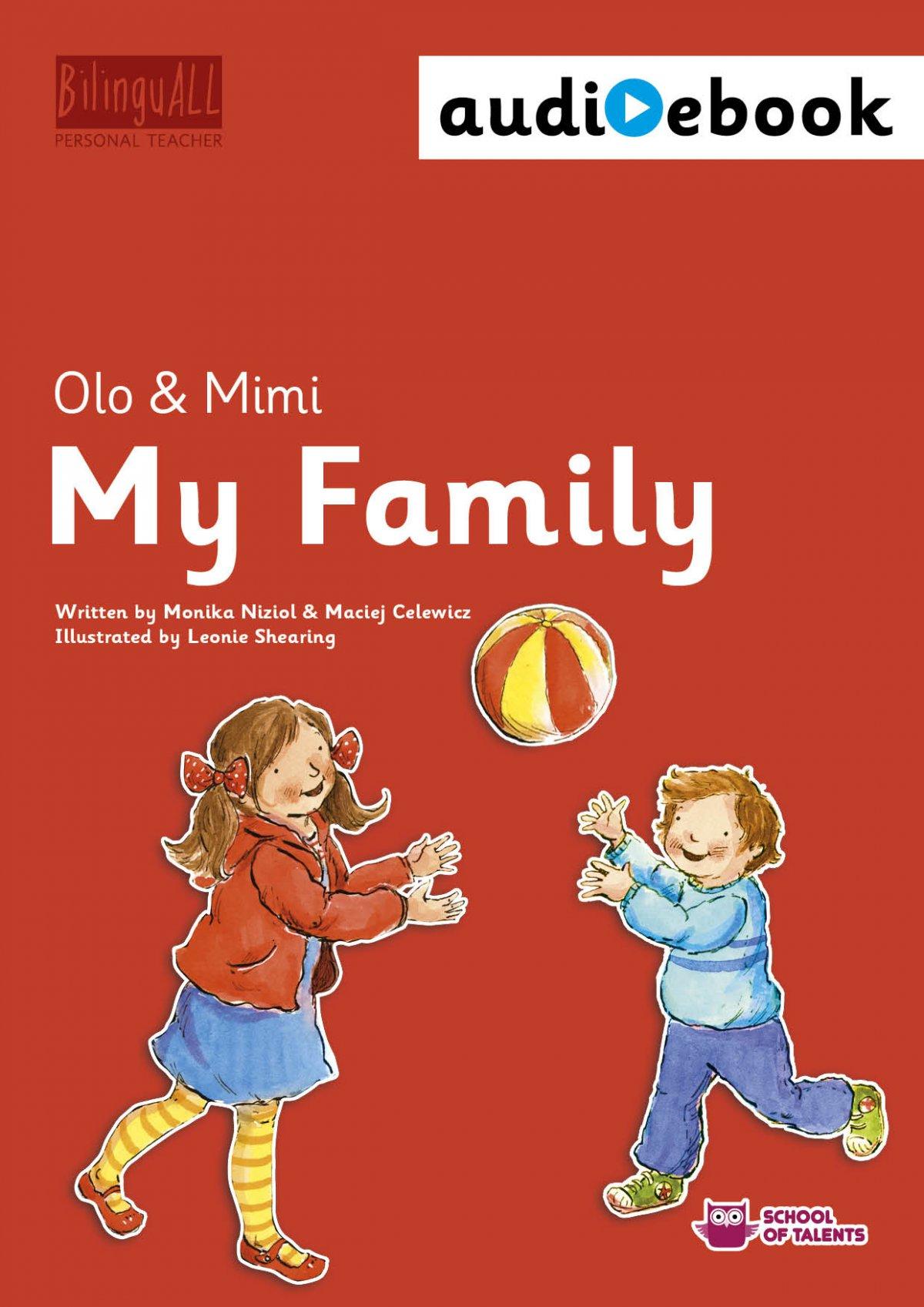 My Family. Ebook + audiobook. Nauka angielskiego dla dzieci 2-7 lat - Ebook (Książka na Kindle) do pobrania w formacie MOBI