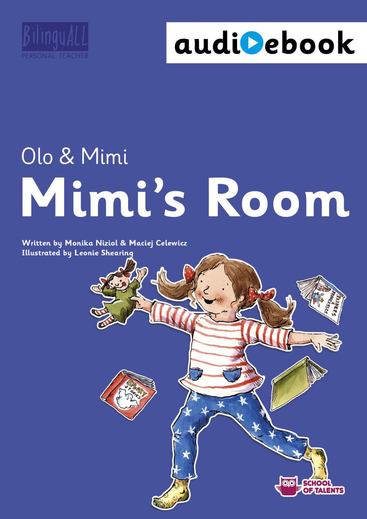 Mimi's Room. Ebook + audiobook. Nauka angielskiego dla dzieci 2-7 lat - Ebook (Książka na Kindle) do pobrania w formacie MOBI