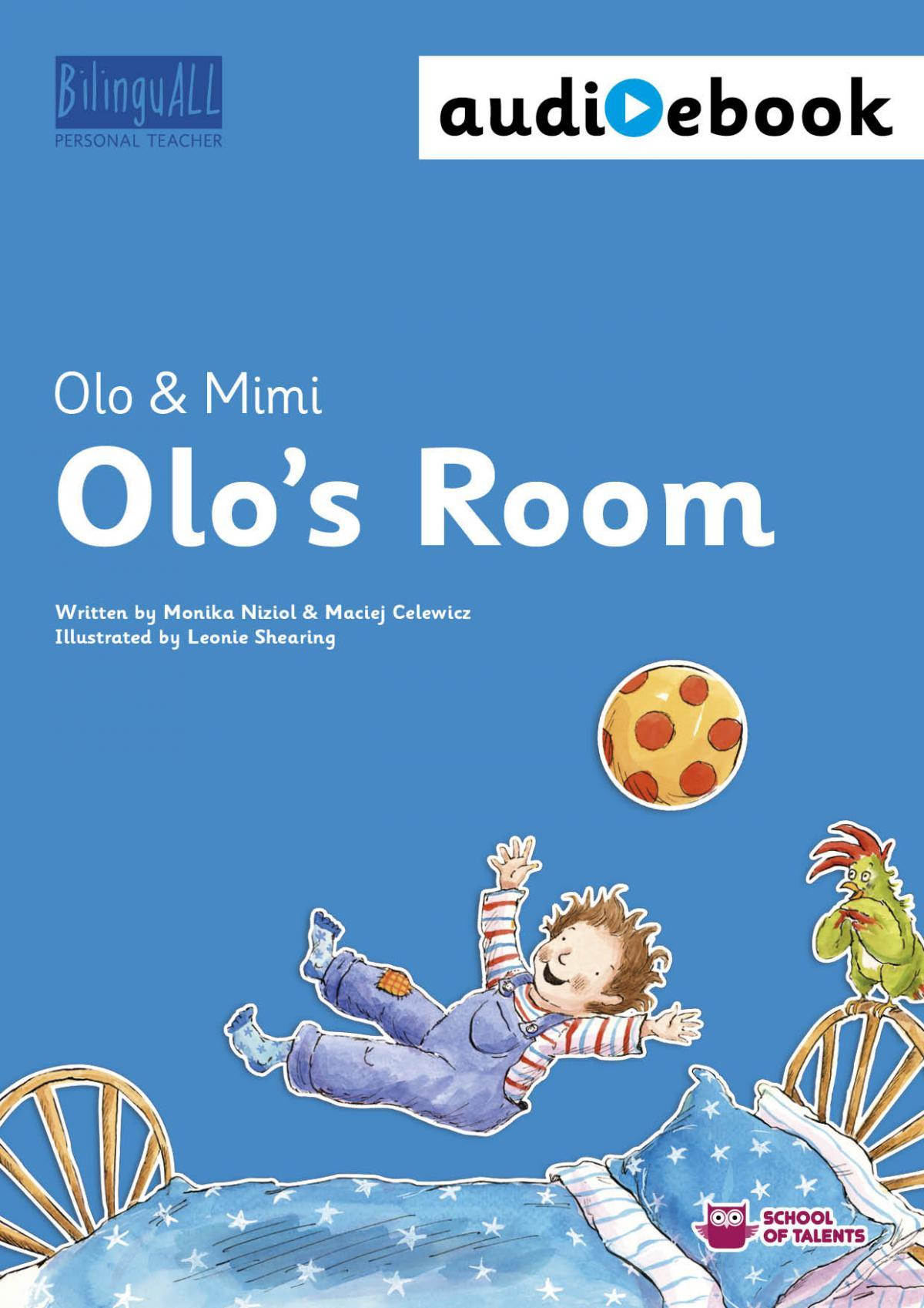 Olo's Room. Ebook + audiobook. Nauka angielskiego dla dzieci 2-7 lat - Ebook (Książka na Kindle) do pobrania w formacie MOBI