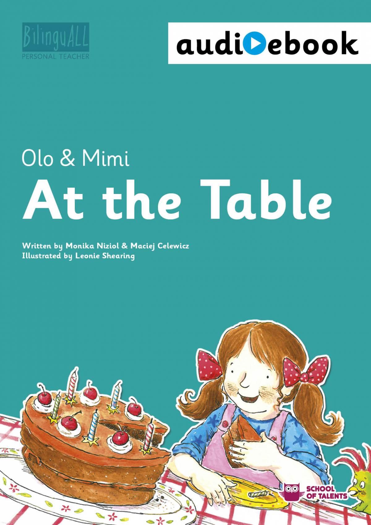 At the Table. Ebook + audiobook. Nauka angielskiego dla dzieci 2-7 lat. - Ebook (Książka na Kindle) do pobrania w formacie MOBI