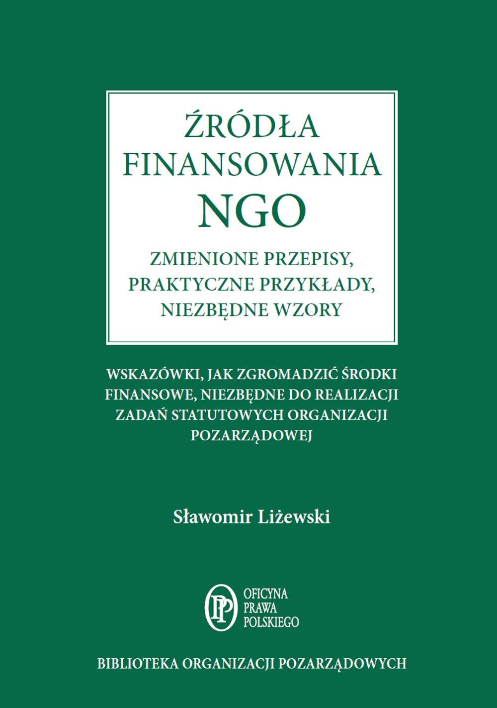 Źródła finansowania NGO - Ebook (Książka PDF) do pobrania w formacie PDF