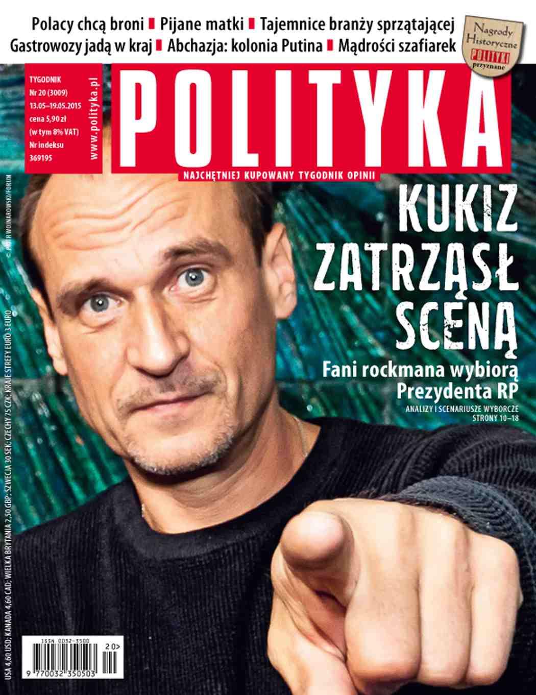 Polityka nr 20/2015 - Ebook (Książka PDF) do pobrania w formacie PDF