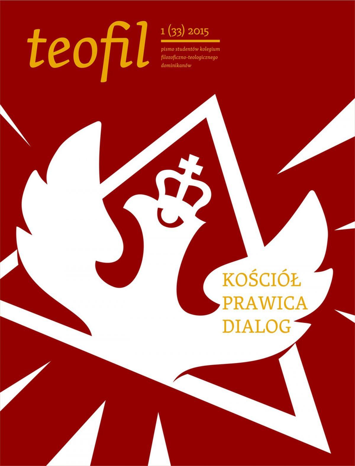 Teofil 1 (33) 2015 Kościół, prawica, dialog - Ebook (Książka EPUB) do pobrania w formacie EPUB