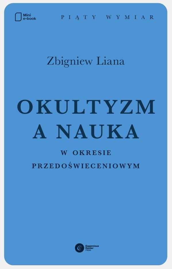 Okultyzm a nauka w okresie przedoświeceniowym - Ebook (Książka na Kindle) do pobrania w formacie MOBI