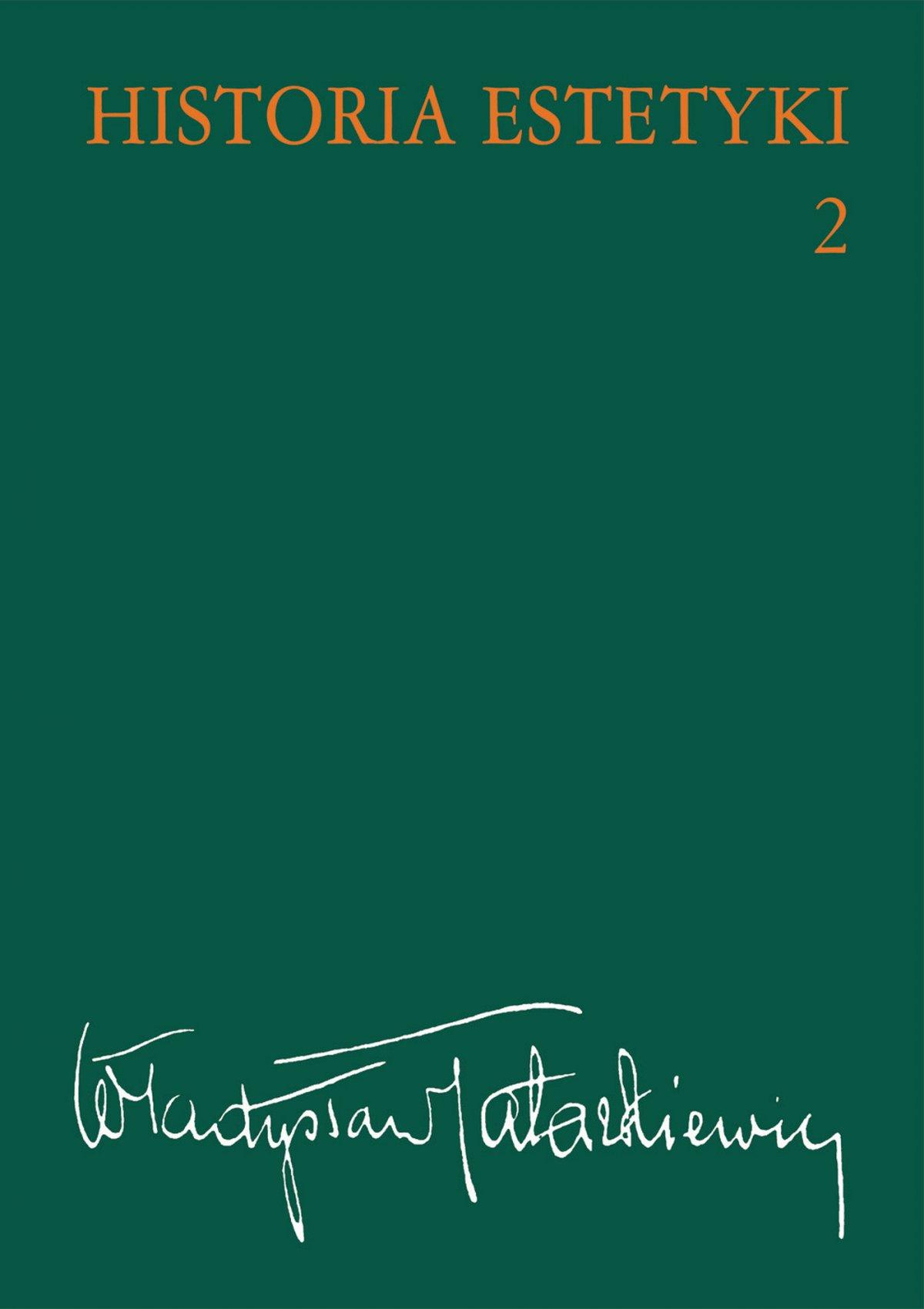 Historia estetyki. Tom 2 - Ebook (Książka na Kindle) do pobrania w formacie MOBI