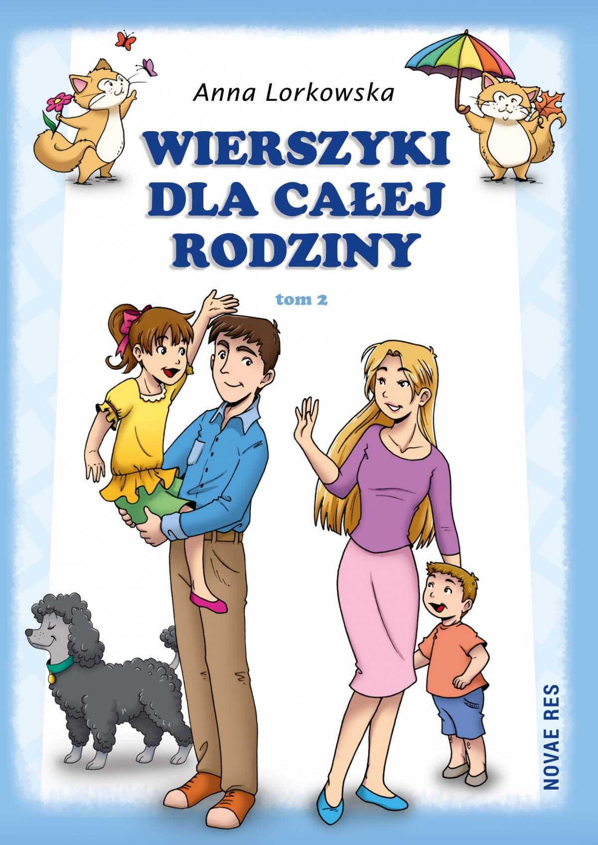 Wierszyki dla całej rodziny. Tom 2 - Ebook (Książka na Kindle) do pobrania w formacie MOBI
