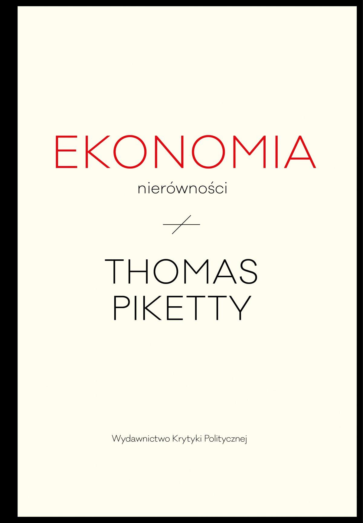 Ekonomia nierówności - Ebook (Książka EPUB) do pobrania w formacie EPUB