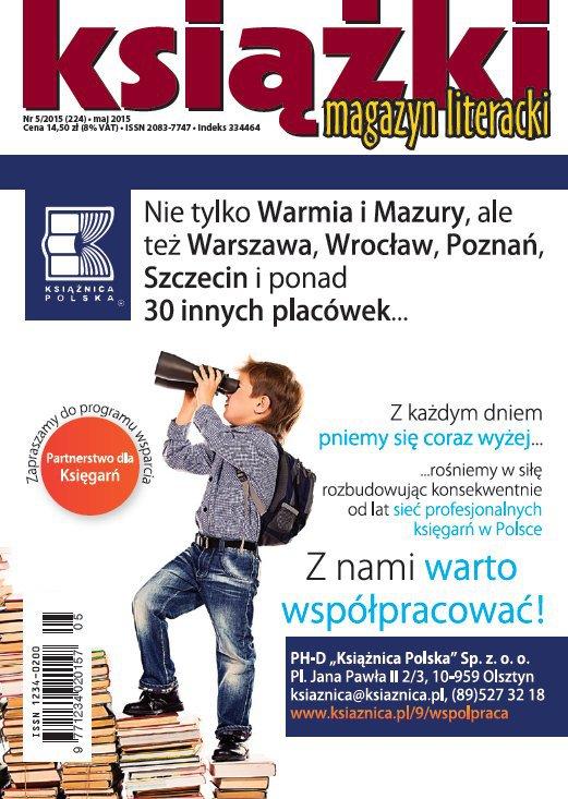 Magazyn Literacki KSIĄŻKI 5/2015 - Ebook (Książka PDF) do pobrania w formacie PDF
