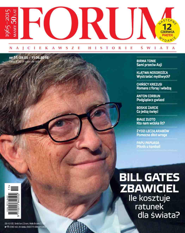 Forum nr 11/2015 - Ebook (Książka PDF) do pobrania w formacie PDF