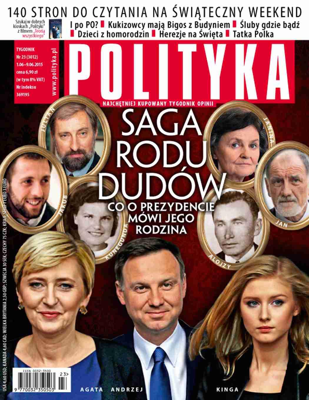 Polityka nr 23/2015 - Ebook (Książka PDF) do pobrania w formacie PDF