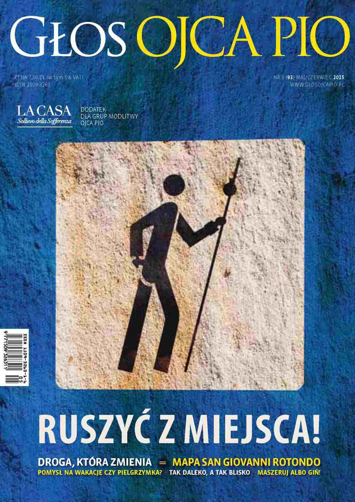 Głos Ojca Pio nr 3 (93) maj/czerwiec 2015 - Ebook (Książka PDF) do pobrania w formacie PDF
