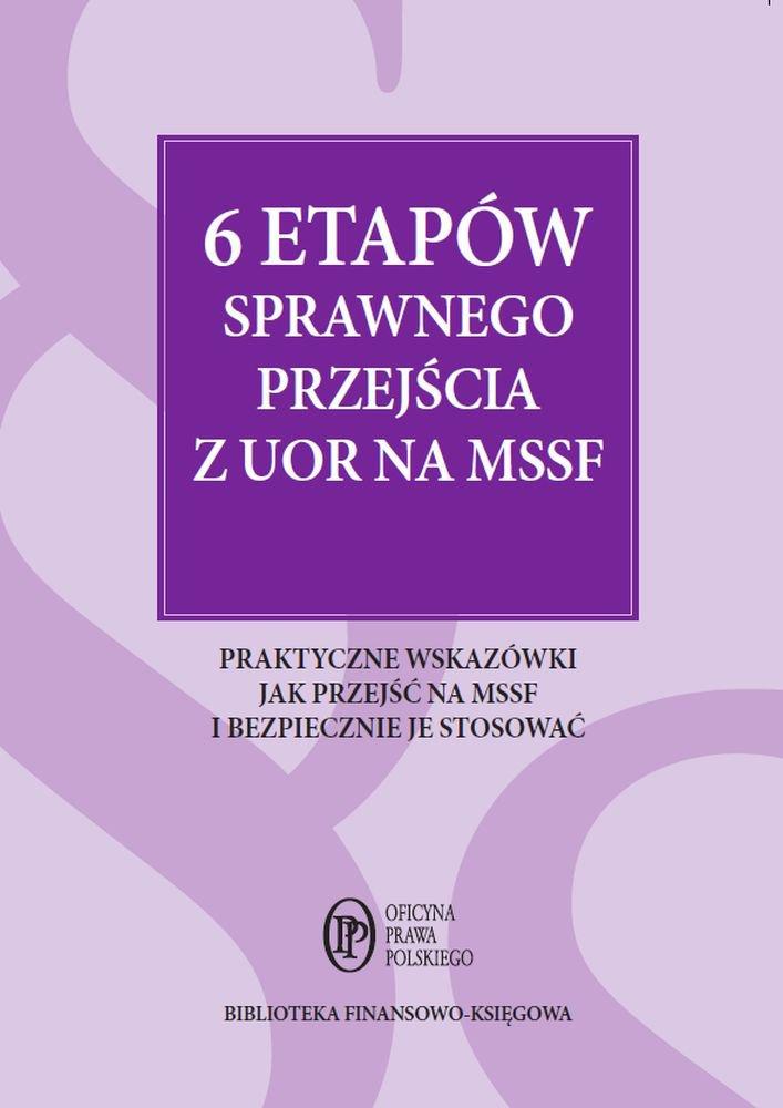 6 etapów sprawnego przejścia z UOR na MSSF - Ebook (Książka PDF) do pobrania w formacie PDF