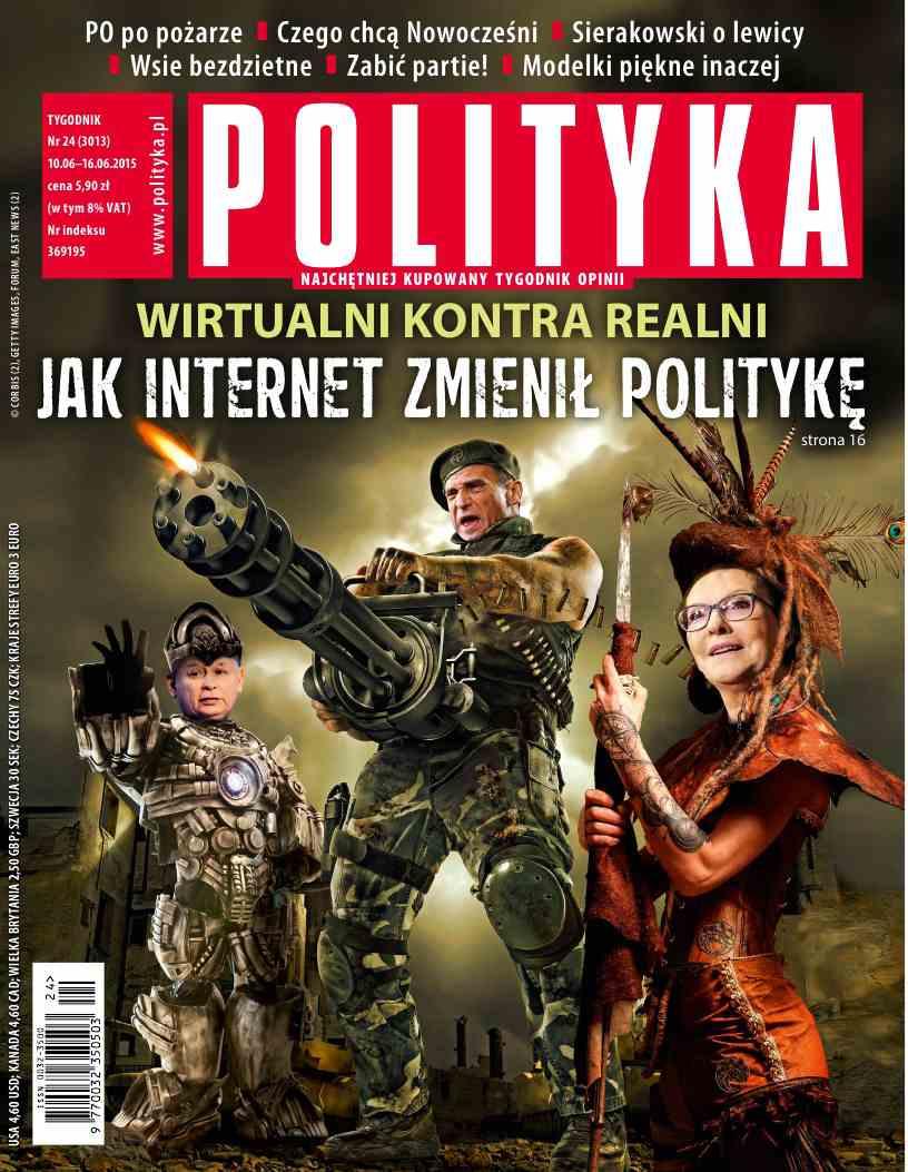 Polityka nr 24/2015 - Ebook (Książka PDF) do pobrania w formacie PDF