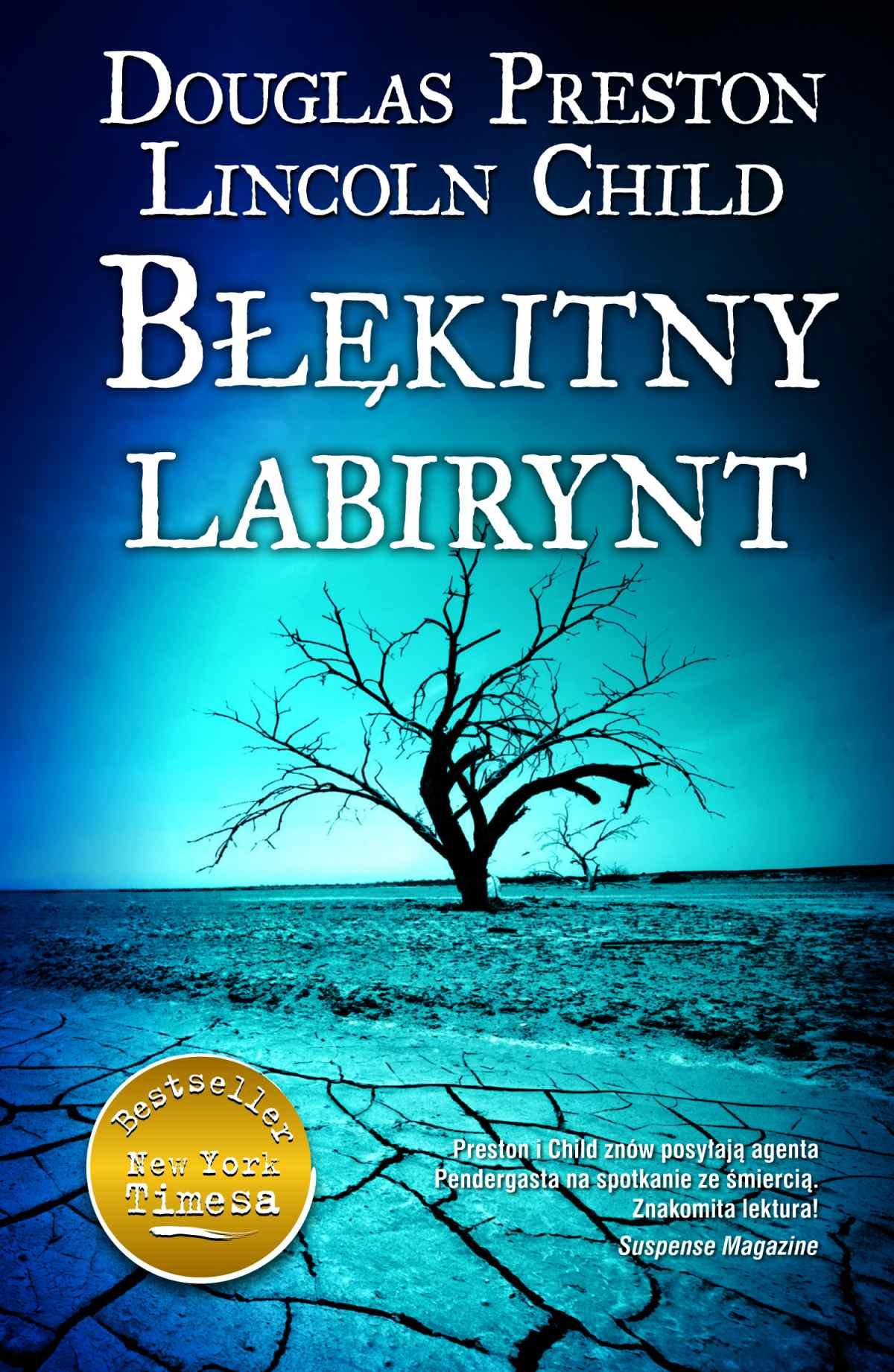 Błękitny labirynt - Ebook (Książka EPUB) do pobrania w formacie EPUB