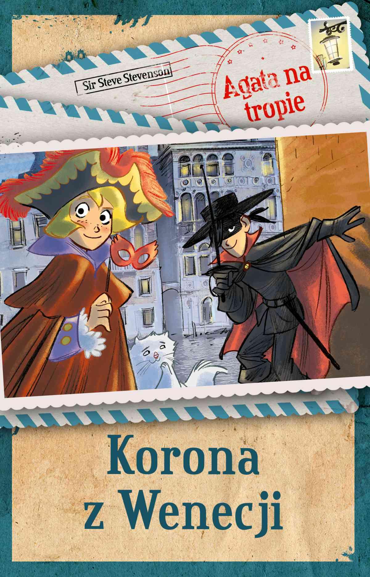 Agata na tropie. Korona z Wenecji - Ebook (Książka na Kindle) do pobrania w formacie MOBI
