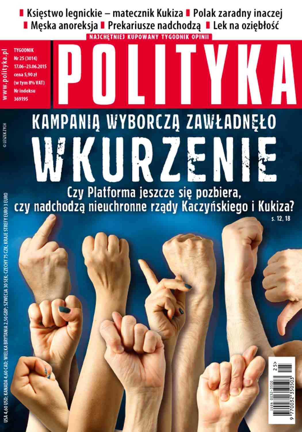 Polityka nr 25/2015 - Ebook (Książka PDF) do pobrania w formacie PDF
