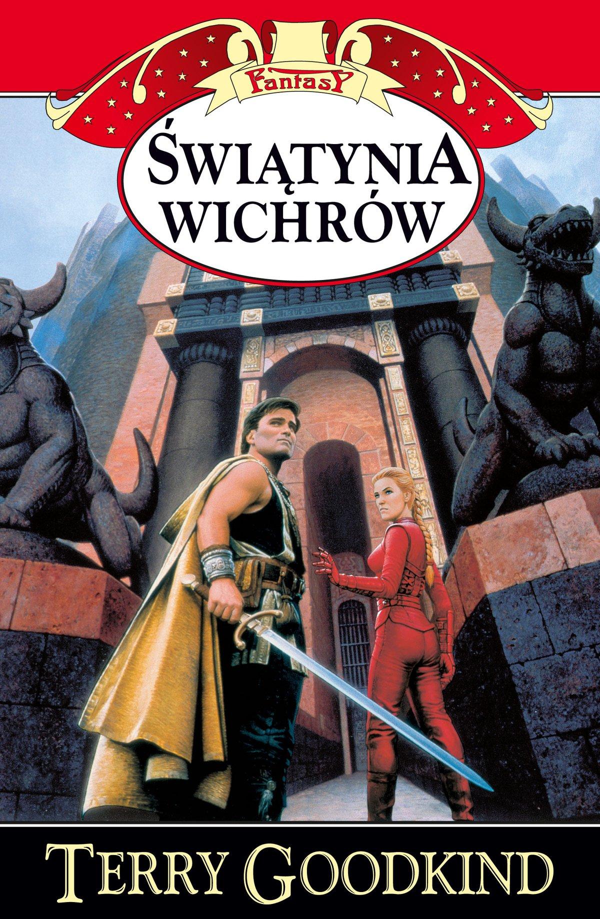 Świątynia Wichrów - Ebook (Książka EPUB) do pobrania w formacie EPUB