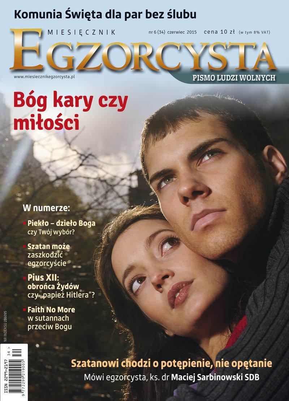 Miesięcznik Egzorcysta. Czerwiec 2015 - Ebook (Książka PDF) do pobrania w formacie PDF