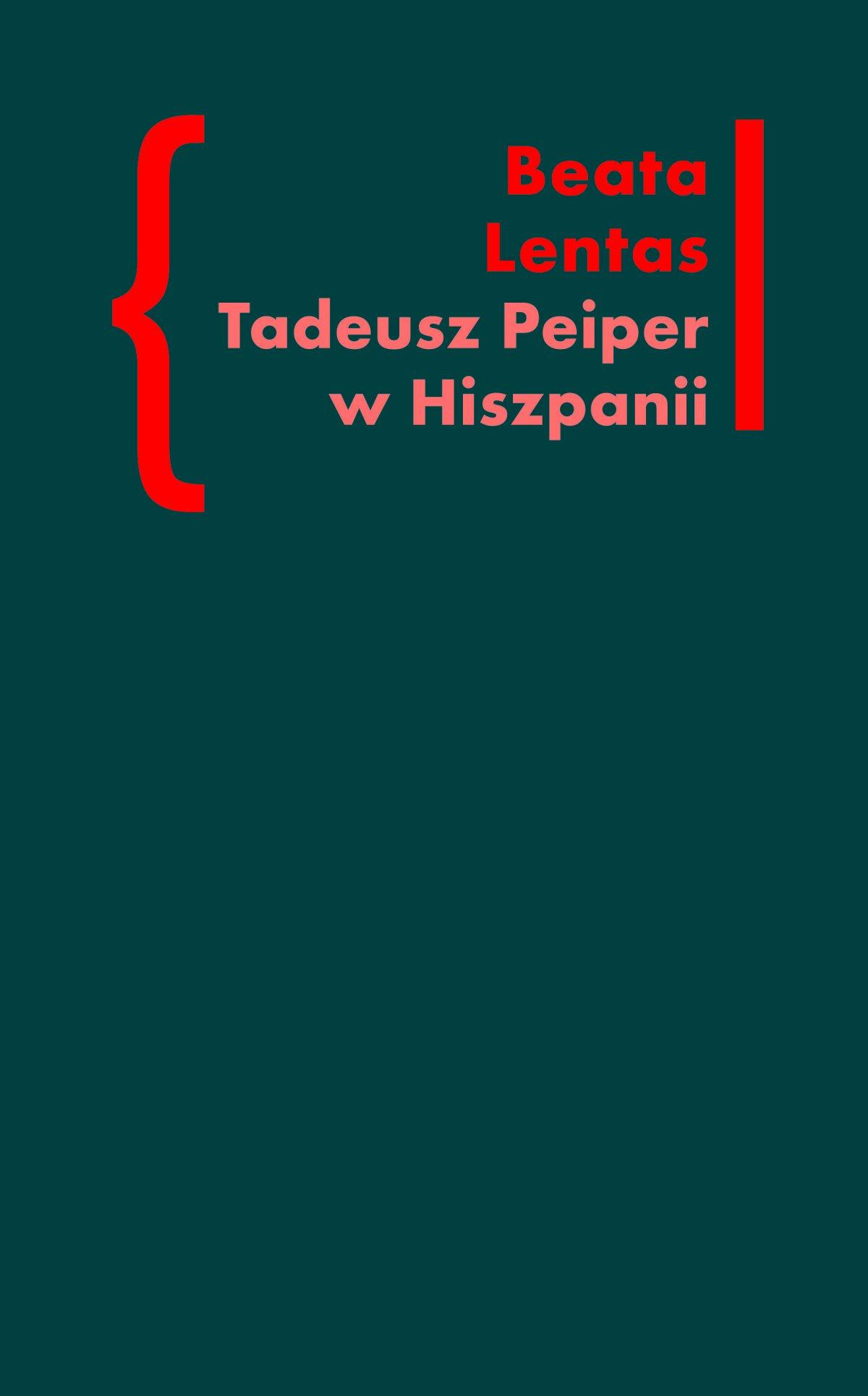 Tadeusz Peiper w Hiszpanii - Ebook (Książka EPUB) do pobrania w formacie EPUB