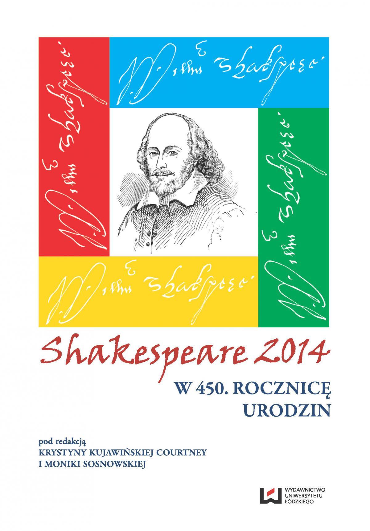 Shakespeare 2014. W 450. rocznicę urodzin - Ebook (Książka PDF) do pobrania w formacie PDF