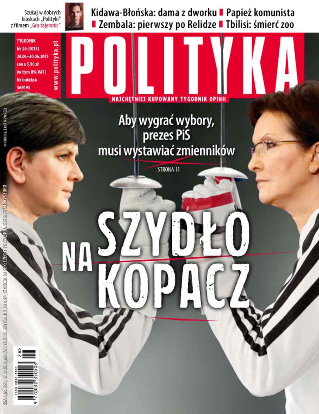 Polityka nr 26/2015 - Ebook (Książka PDF) do pobrania w formacie PDF