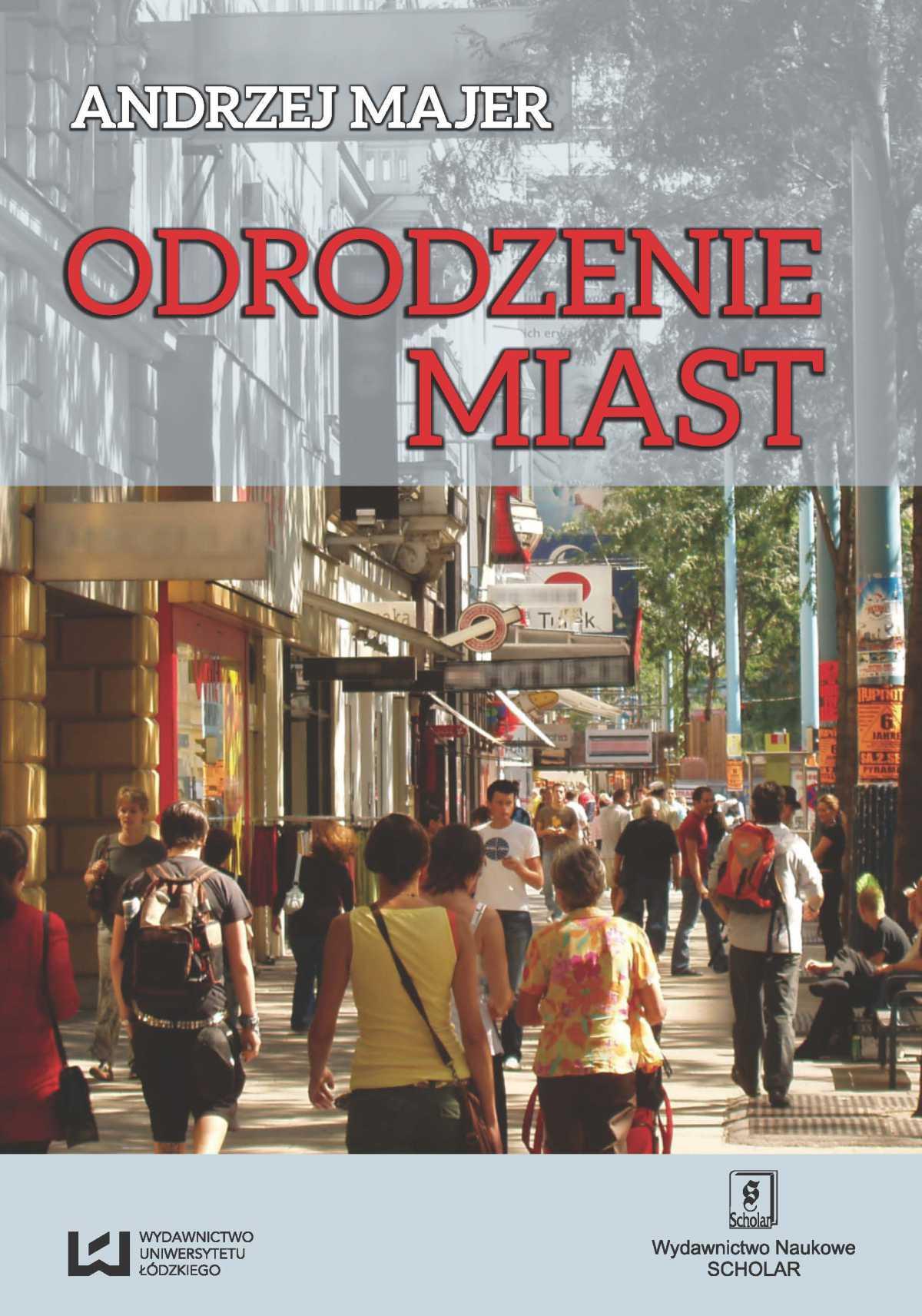 Odrodzenie miast - Ebook (Książka PDF) do pobrania w formacie PDF