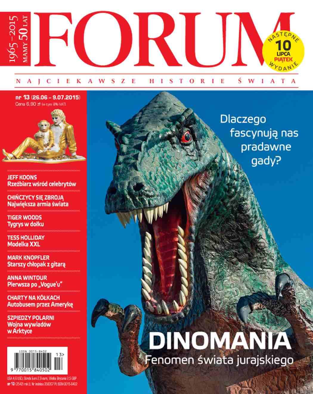 Forum nr 13/2015 - Ebook (Książka PDF) do pobrania w formacie PDF