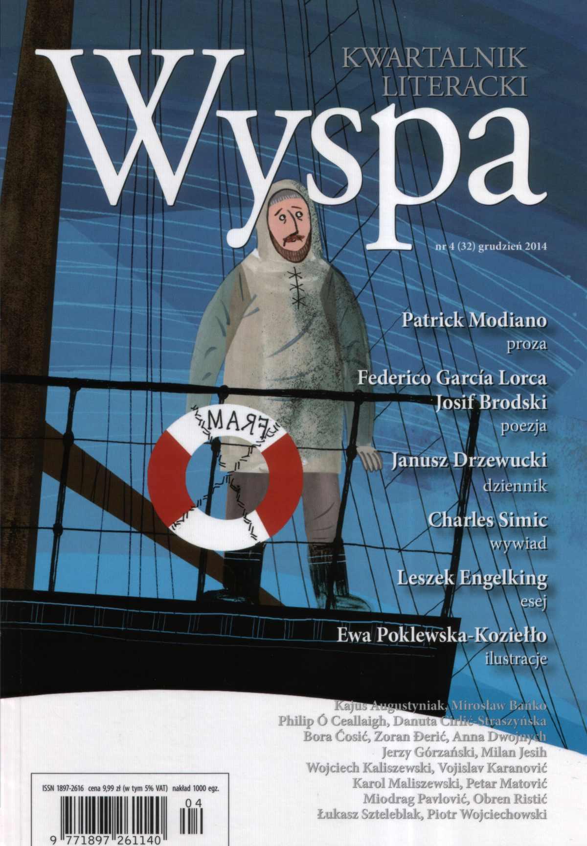 WYSPA Kwartalnik Literacki - nr 4/2014 (32) - Ebook (Książka na Kindle) do pobrania w formacie MOBI