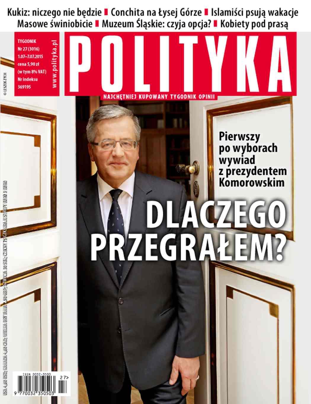 Polityka nr 27/2015 - Ebook (Książka PDF) do pobrania w formacie PDF