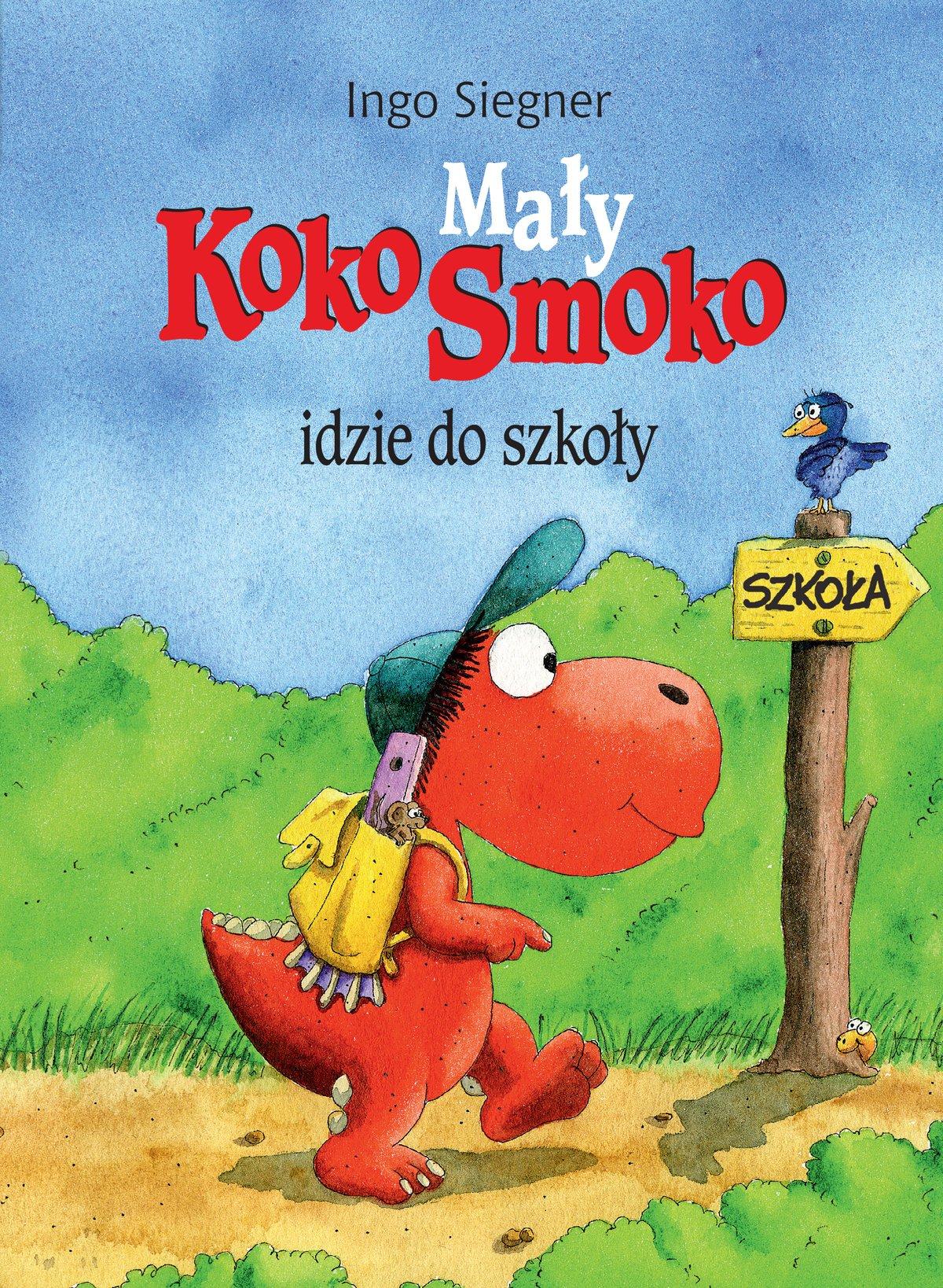 Mały Koko Smoko idzie do szkoły - Ebook (Książka EPUB) do pobrania w formacie EPUB