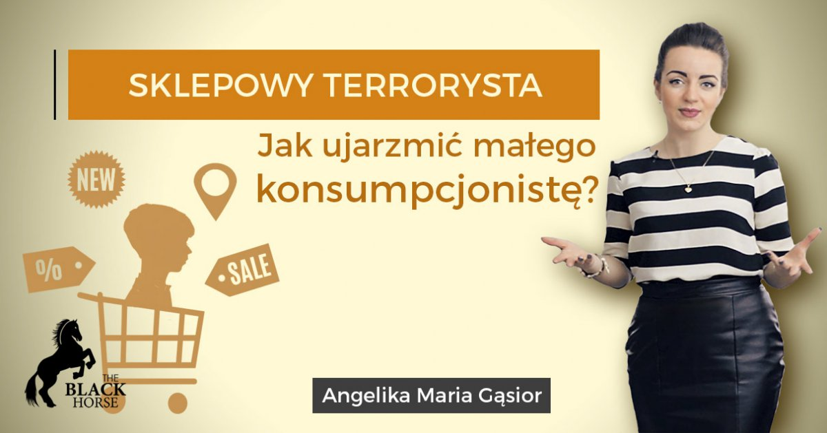 Sklepowy Terrorysta. Jak ujarzmić małego konsumpcjonistę? - Audiobook (Książka audio MP3) do pobrania w całości w archiwum ZIP